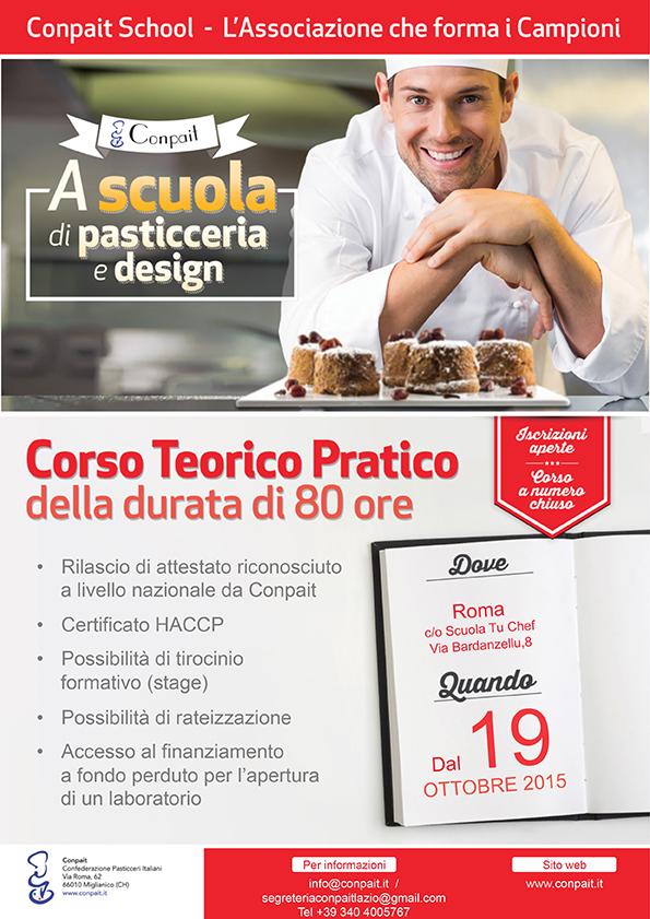 Corso Pasticceria E Cake Design Roma : NUOVO APPUNTAMENTO FORMAZIONE Noi Pasticcieri